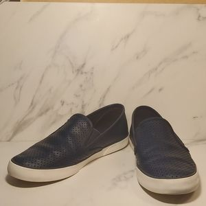 SPERRY Seaside Perforated Leather Slip-On Sneakers